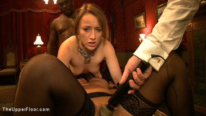 Photo number 13 from First Service Day shot for The Upper Floor on Kink.com. Featuring Jessie Cox, Kait Snow and Jack Hammer in hardcore BDSM & Fetish porn.