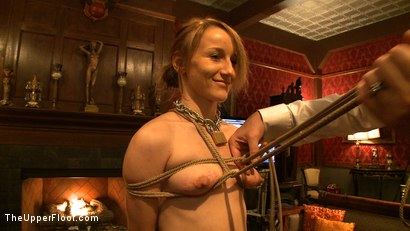 Photo number 3 from First Service Day shot for The Upper Floor on Kink.com. Featuring Jessie Cox, Kait Snow and Jack Hammer in hardcore BDSM & Fetish porn.