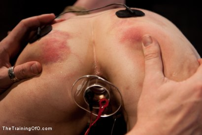 Photo number 7 from Day 4 - red and blue shot for The Training Of O on Kink.com. Featuring Iona Grace and Krysta Kaos in hardcore BDSM & Fetish porn.