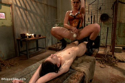 Photo number 12 from Break The Unbreakable shot for Whipped Ass on Kink.com. Featuring Elise Graves and Felony in hardcore BDSM & Fetish porn.