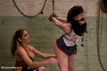 Photo number 2 from Break The Unbreakable shot for Whipped Ass on Kink.com. Featuring Elise Graves and Felony in hardcore BDSM & Fetish porn.