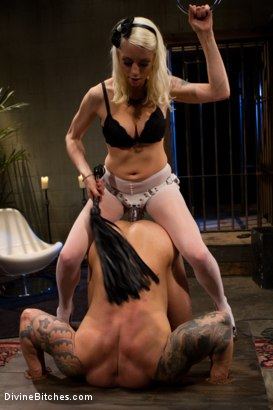Photo number 13 from Human Furniture shot for Divine Bitches on Kink.com. Featuring Lorelei Lee and Dutch Bardoux in hardcore BDSM & Fetish porn.