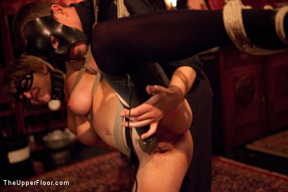 Photo number 20 from Masters' Evening shot for The Upper Floor on Kink.com. Featuring Kait Snow, Jessie Cox, Iona Grace and Krysta Kaos in hardcore BDSM & Fetish porn.