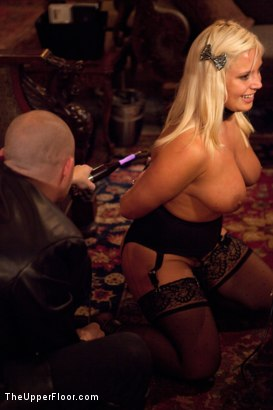 Photo number 22 from Masters' Evening shot for The Upper Floor on Kink.com. Featuring Kait Snow, Jessie Cox, Iona Grace and Krysta Kaos in hardcore BDSM & Fetish porn.