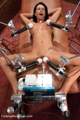 Photo number 10 from FuckingMachines Feature Classic: Overload: The Pussy, The Tits, The Ass, The Girl shot for Fucking Machines on Kink.com. Featuring Bailey Brooks in hardcore BDSM & Fetish porn.