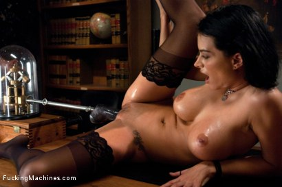 Photo number 15 from Office Sex: Machine Fucking on the Boss's Desk shot for Fucking Machines on Kink.com. Featuring Bailey Brooks in hardcore BDSM & Fetish porn.