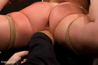 "Photo number 12 from MILF with ""EE"" tits has so many orgasms ripped out of her<br>Cries from the brutal emotion of it all shot for Hogtied on Kink.com. Featuring Sara Jay and Isis Love in hardcore BDSM & Fetish porn."