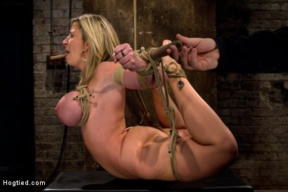 "Photo number 13 from MILF with ""EE"" tits has so many orgasms ripped out of her<br>Cries from the brutal emotion of it all shot for Hogtied on Kink.com. Featuring Sara Jay and Isis Love in hardcore BDSM & Fetish porn."