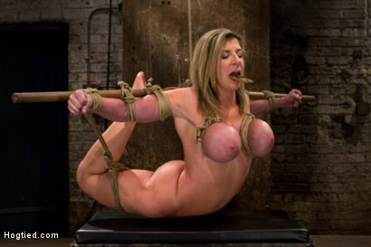 "Photo number 1 from MILF with ""EE"" tits has so many orgasms ripped out of her<br>Cries from the brutal emotion of it all shot for Hogtied on Kink.com. Featuring Sara Jay and Isis Love in hardcore BDSM & Fetish porn."