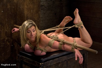 "Photo number 6 from MILF with ""EE"" tits has so many orgasms ripped out of her<br>Cries from the brutal emotion of it all shot for Hogtied on Kink.com. Featuring Sara Jay and Isis Love in hardcore BDSM & Fetish porn."