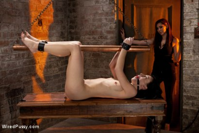 Photo number 7 from Tough as Nails shot for Wired Pussy on Kink.com. Featuring Elise Graves and Princess Donna Dolore in hardcore BDSM & Fetish porn.