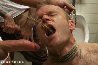 Photo number 5 from Cruising for Sex with Riley shot for Bound in Public on Kink.com. Featuring Riley Vlcek and Josh West in hardcore BDSM & Fetish porn.