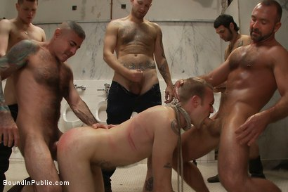 Photo number 13 from Cruising for Sex with Riley shot for Bound in Public on Kink.com. Featuring Riley Vlcek and Josh West in hardcore BDSM & Fetish porn.