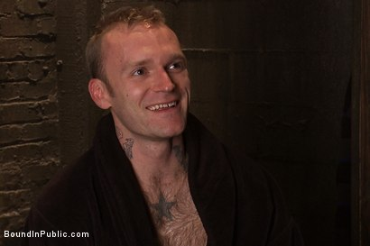 Photo number 15 from Cruising for Sex with Riley shot for Bound in Public on Kink.com. Featuring Riley Vlcek and Josh West in hardcore BDSM & Fetish porn.
