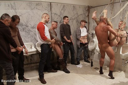 Photo number 7 from Cruising for Sex with Riley shot for Bound in Public on Kink.com. Featuring Riley Vlcek and Josh West in hardcore BDSM & Fetish porn.