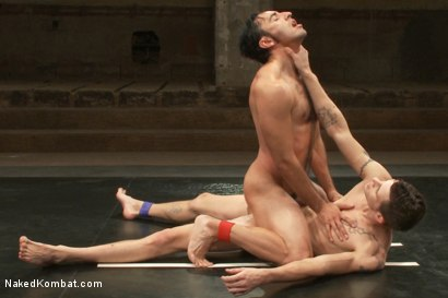 Photo number 13 from Gianni Luca vs Adonis shot for Naked Kombat on Kink.com. Featuring Gianni Luca and Adonis in hardcore BDSM & Fetish porn.