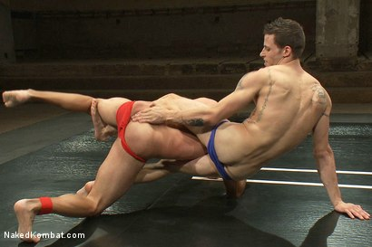 Photo number 2 from Gianni Luca vs Adonis shot for Naked Kombat on Kink.com. Featuring Gianni Luca and Adonis in hardcore BDSM & Fetish porn.