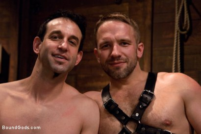 Photo number 15 from Master Dirk Caber shot for Bound Gods on Kink.com. Featuring Dirk Caber and Jason Miller in hardcore BDSM & Fetish porn.