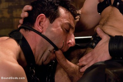 Photo number 9 from Master Dirk Caber shot for Bound Gods on Kink.com. Featuring Dirk Caber and Jason Miller in hardcore BDSM & Fetish porn.