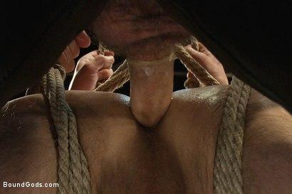 Photo number 13 from Master Dirk Caber shot for Bound Gods on Kink.com. Featuring Dirk Caber and Jason Miller in hardcore BDSM & Fetish porn.