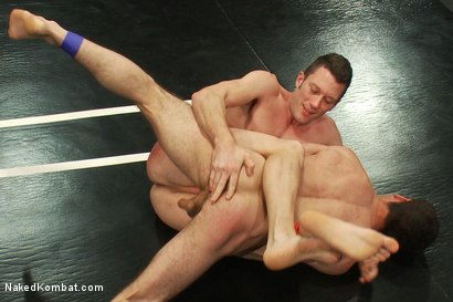 Photo number 8 from DJ vs Kyle Braun shot for Naked Kombat on Kink.com. Featuring Kyle Braun and DJ in hardcore BDSM & Fetish porn.