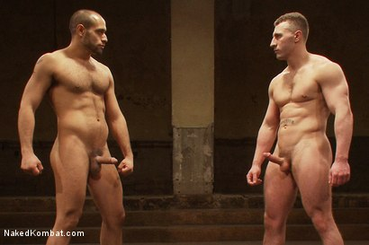 Photo number 15 from Leo Forte vs Roman Rivers shot for Naked Kombat on Kink.com. Featuring Roman Rivers and Leo Forte in hardcore BDSM & Fetish porn.