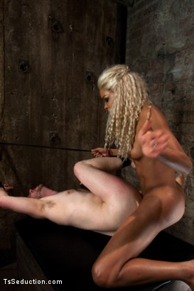 Photo number 11 from One Man's Fantasy: <br> Ts Cock Punishing His Ass shot for TS Seduction on Kink.com. Featuring Mistress Soleli and Will Jasper in hardcore BDSM & Fetish porn.