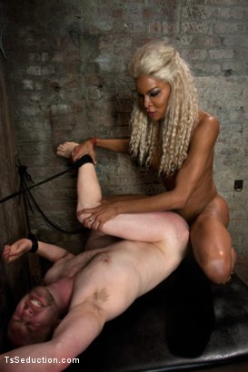 Photo number 7 from One Man's Fantasy: <br> Ts Cock Punishing His Ass shot for TS Seduction on Kink.com. Featuring Mistress Soleli and Will Jasper in hardcore BDSM & Fetish porn.
