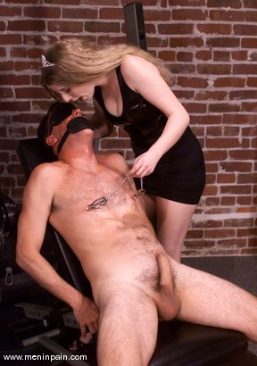 Photo number 12 from Princess Kali and Wild Bill shot for Men In Pain on Kink.com. Featuring Wild Bill and Princess Kali in hardcore BDSM & Fetish porn.