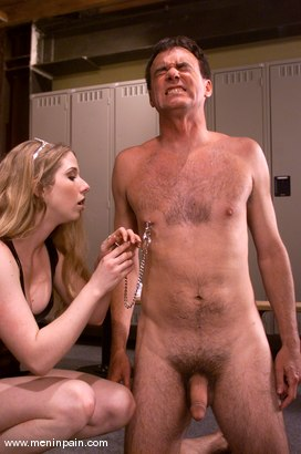 Photo number 4 from Princess Kali and Wild Bill shot for Men In Pain on Kink.com. Featuring Wild Bill and Princess Kali in hardcore BDSM & Fetish porn.