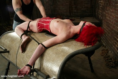 Photo number 8 from Kory Vixen and Thane shot for Hogtied on Kink.com. Featuring Kory Vixen and Thane in hardcore BDSM & Fetish porn.