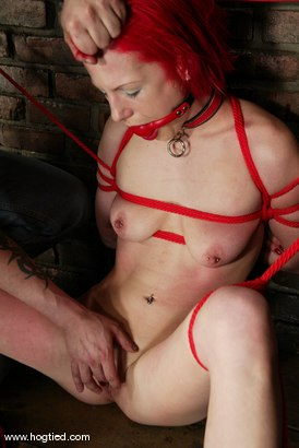 Photo number 4 from Kory Vixen and Thane shot for Hogtied on Kink.com. Featuring Kory Vixen and Thane in hardcore BDSM & Fetish porn.