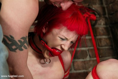 Photo number 5 from Kory Vixen and Thane shot for Hogtied on Kink.com. Featuring Kory Vixen and Thane in hardcore BDSM & Fetish porn.
