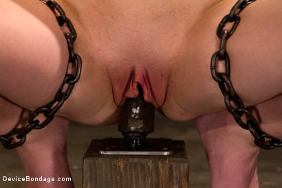 Photo number 12 from Hazing Emma - Trial of a Cunt that Could shot for Device Bondage on Kink.com. Featuring Emma Haize in hardcore BDSM & Fetish porn.