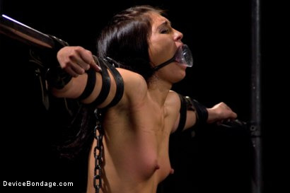 Photo number 8 from She Came to Play, I Played Her to Cum. shot for Device Bondage on Kink.com. Featuring Miss Jade Indica in hardcore BDSM & Fetish porn.