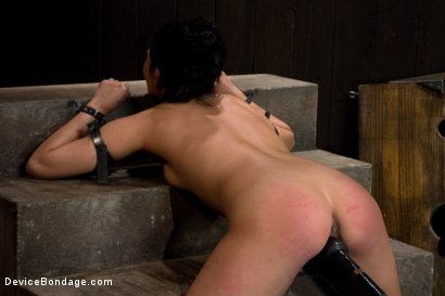 Photo number 13 from She Came to Play, I Played Her to Cum. shot for Device Bondage on Kink.com. Featuring Miss Jade Indica in hardcore BDSM & Fetish porn.