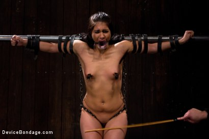 Photo number 10 from She Came to Play, I Played Her to Cum. shot for Device Bondage on Kink.com. Featuring Miss Jade Indica in hardcore BDSM & Fetish porn.