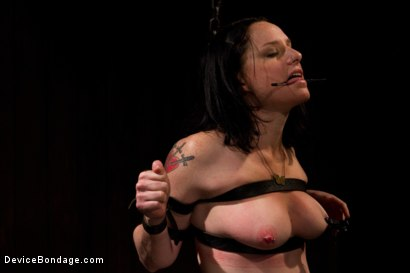 Photo number 4 from Your Suffering Is a Turn On. shot for Device Bondage on Kink.com. Featuring Scarlet Faux in hardcore BDSM & Fetish porn.
