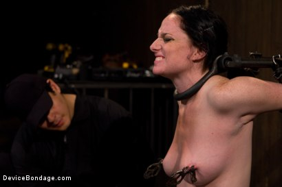 Photo number 13 from Your Suffering Is a Turn On. shot for Device Bondage on Kink.com. Featuring Scarlet Faux in hardcore BDSM & Fetish porn.