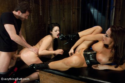 Photo number 9 from Anal Skank shot for Everything Butt on Kink.com. Featuring James Deen, Chanel Preston and Angelica Raven in hardcore BDSM & Fetish porn.