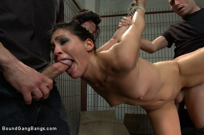 Photo number 4 from Jade's Fantasy shot for Bound Gang Bangs on Kink.com. Featuring Miss Jade Indica in hardcore BDSM & Fetish porn.