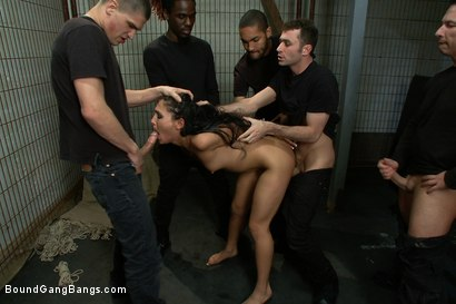 Photo number 7 from Jade's Fantasy shot for Bound Gang Bangs on Kink.com. Featuring Miss Jade Indica in hardcore BDSM & Fetish porn.
