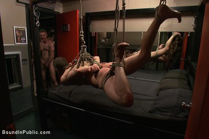 Photo number 10 from A slutty back-talker gets used and abused in front of a crowd at Steamworks bathhouse.  shot for Bound in Public on Kink.com. Featuring Josh West, Cameron Adams and Nick Moretti in hardcore BDSM & Fetish porn.