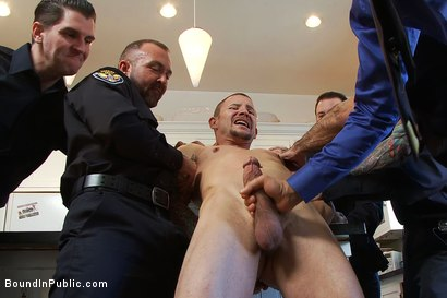 Photo number 5 from Perverted Punishment - Brenn Wyson shot for Bound in Public on Kink.com. Featuring Brenn Wyson, Josh West and Nick Moretti in hardcore BDSM & Fetish porn.