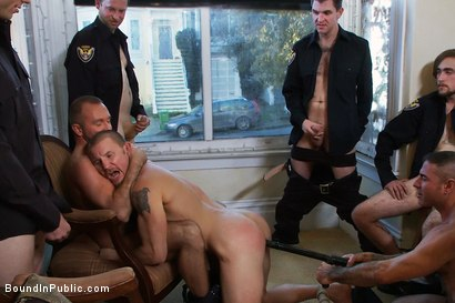 Photo number 10 from Perverted Punishment - Brenn Wyson shot for Bound in Public on Kink.com. Featuring Brenn Wyson, Josh West and Nick Moretti in hardcore BDSM & Fetish porn.