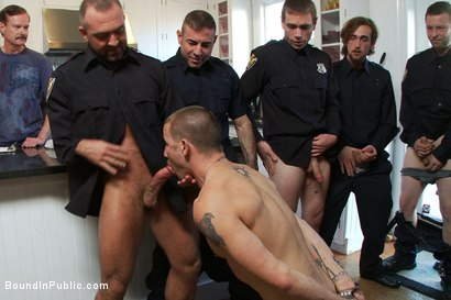 Photo number 7 from Perverted Punishment - Brenn Wyson shot for Bound in Public on Kink.com. Featuring Brenn Wyson, Josh West and Nick Moretti in hardcore BDSM & Fetish porn.