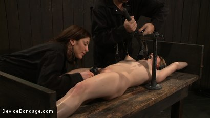 Photo number 8 from Super Slut  shot for Device Bondage on Kink.com. Featuring Lily LaBeau and James Deen in hardcore BDSM & Fetish porn.