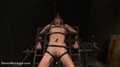 Photo number 11 from Super Slut 3: Revolving Intentions shot for Device Bondage on Kink.com. Featuring Lily LaBeau and James Deen in hardcore BDSM & Fetish porn.