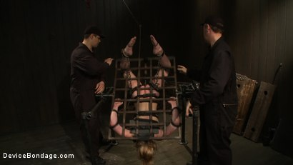 Photo number 5 from Super Slut 3: Revolving Intentions shot for Device Bondage on Kink.com. Featuring Lily LaBeau and James Deen in hardcore BDSM & Fetish porn.