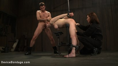 Photo number 10 from Super Slut 4: Holes A Plenty shot for Device Bondage on Kink.com. Featuring Lily LaBeau and James Deen in hardcore BDSM & Fetish porn.